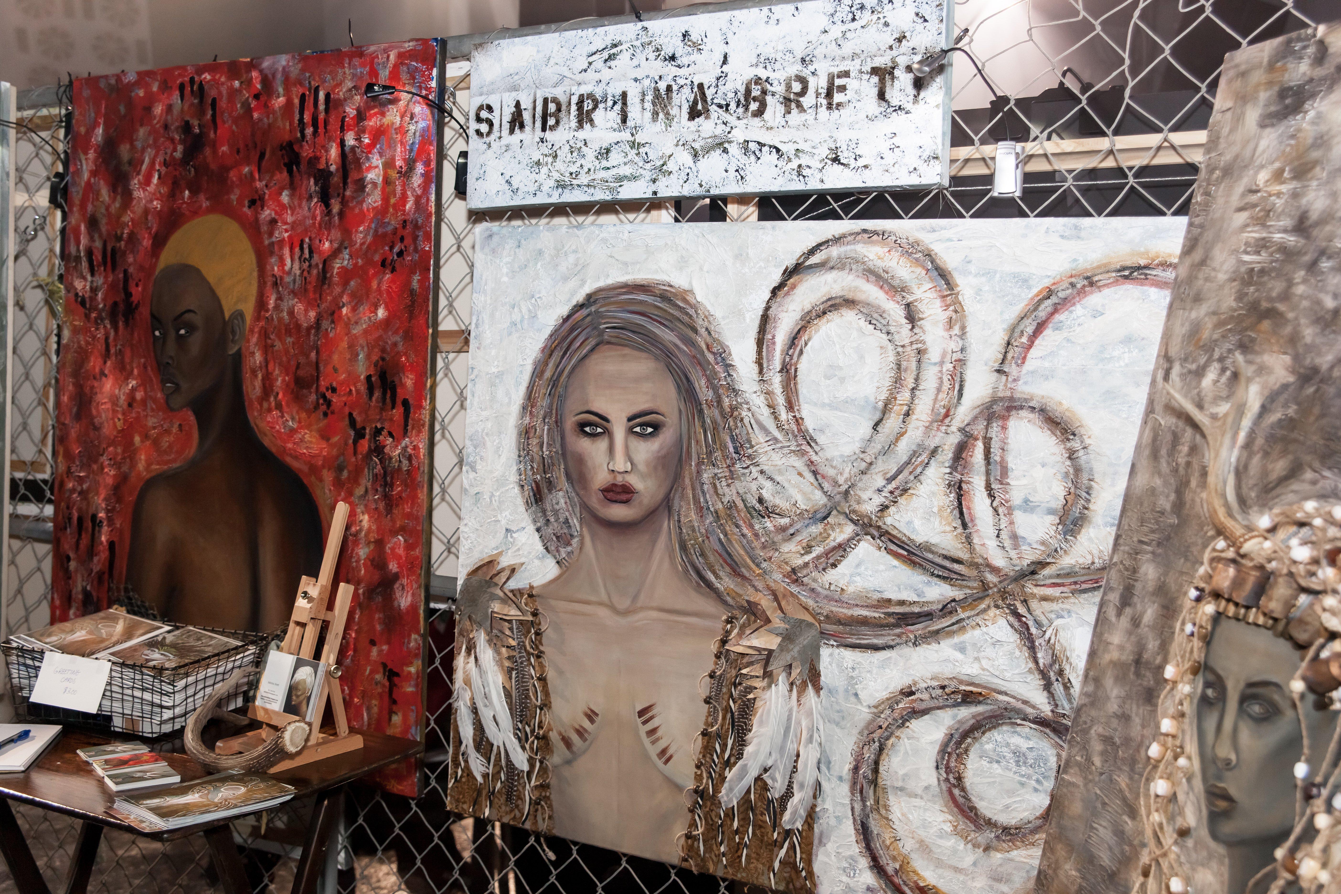 RAW San Francisco Art Show by Sabrina Brett