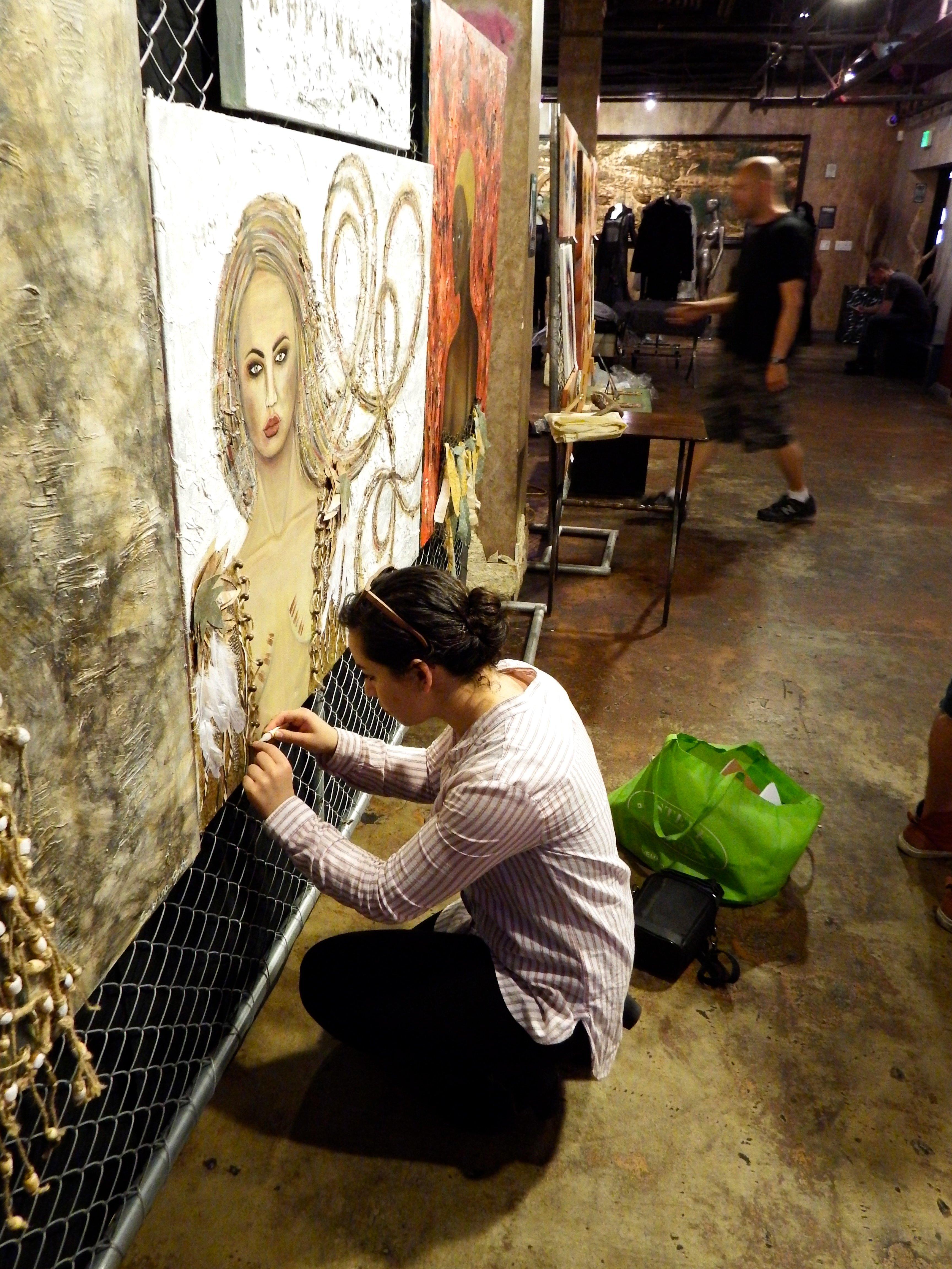 5th Annual RAWards Indie Art Show: Founder's Favorite Artist Sabrina Brett 2