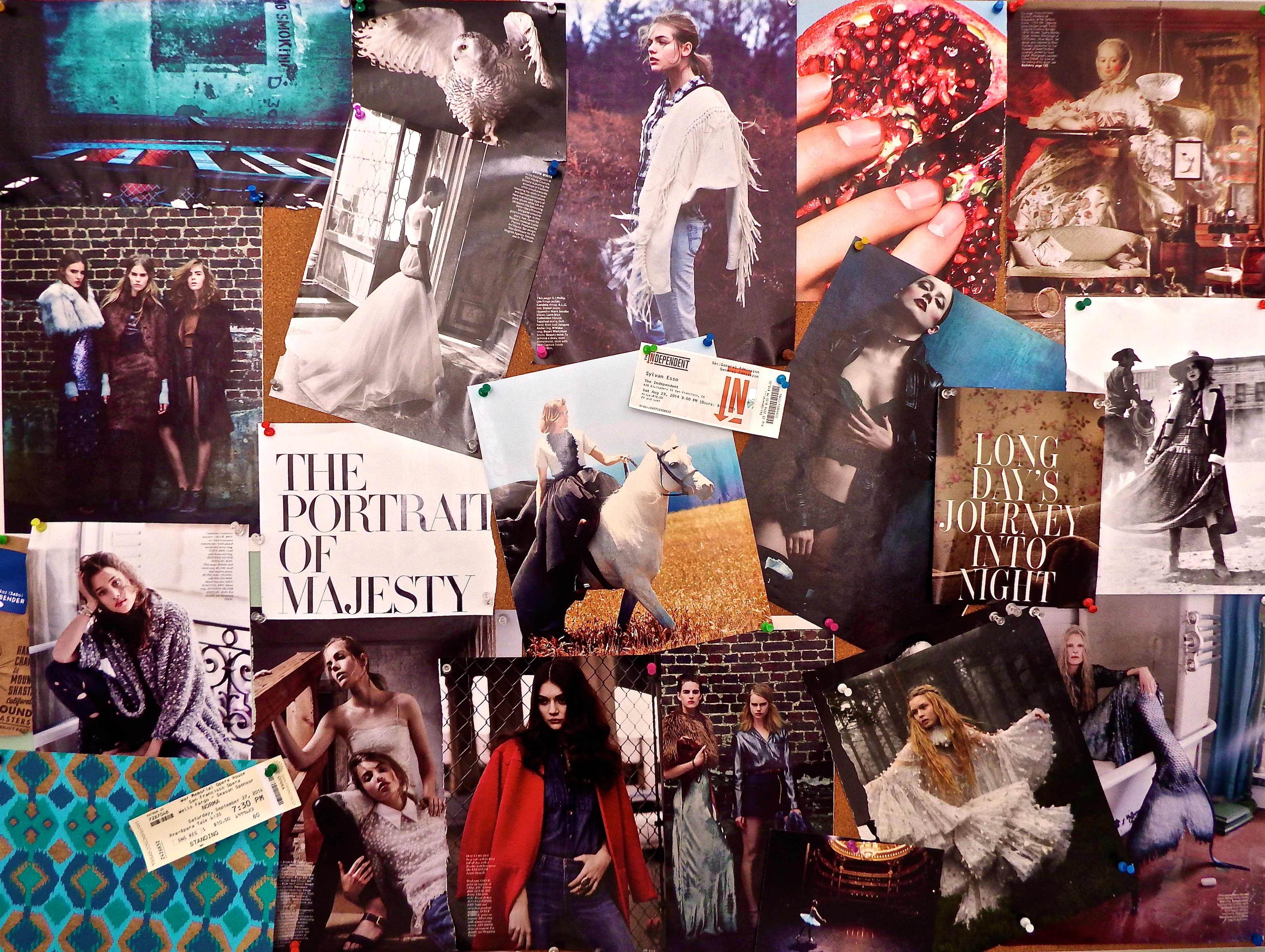 Inspiration Board Fall 2014 by Sabrina Brett