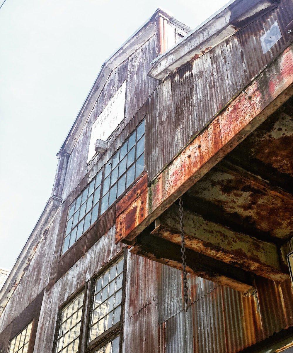 Hazardous Building, Dogpatch, San Francisco by Sabrina Brett