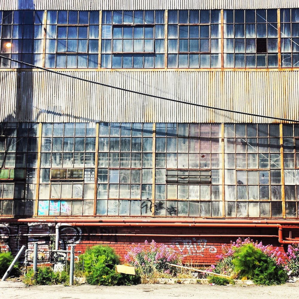 Warehouse in Dogpatch, San Francisco, by  Sabrina Brett