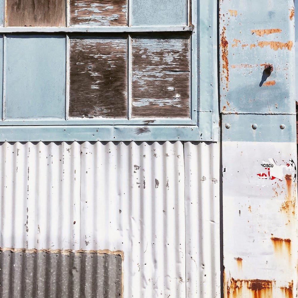 Dogpatch Warehouse Detail, San Francisco, by Sabrina Brett