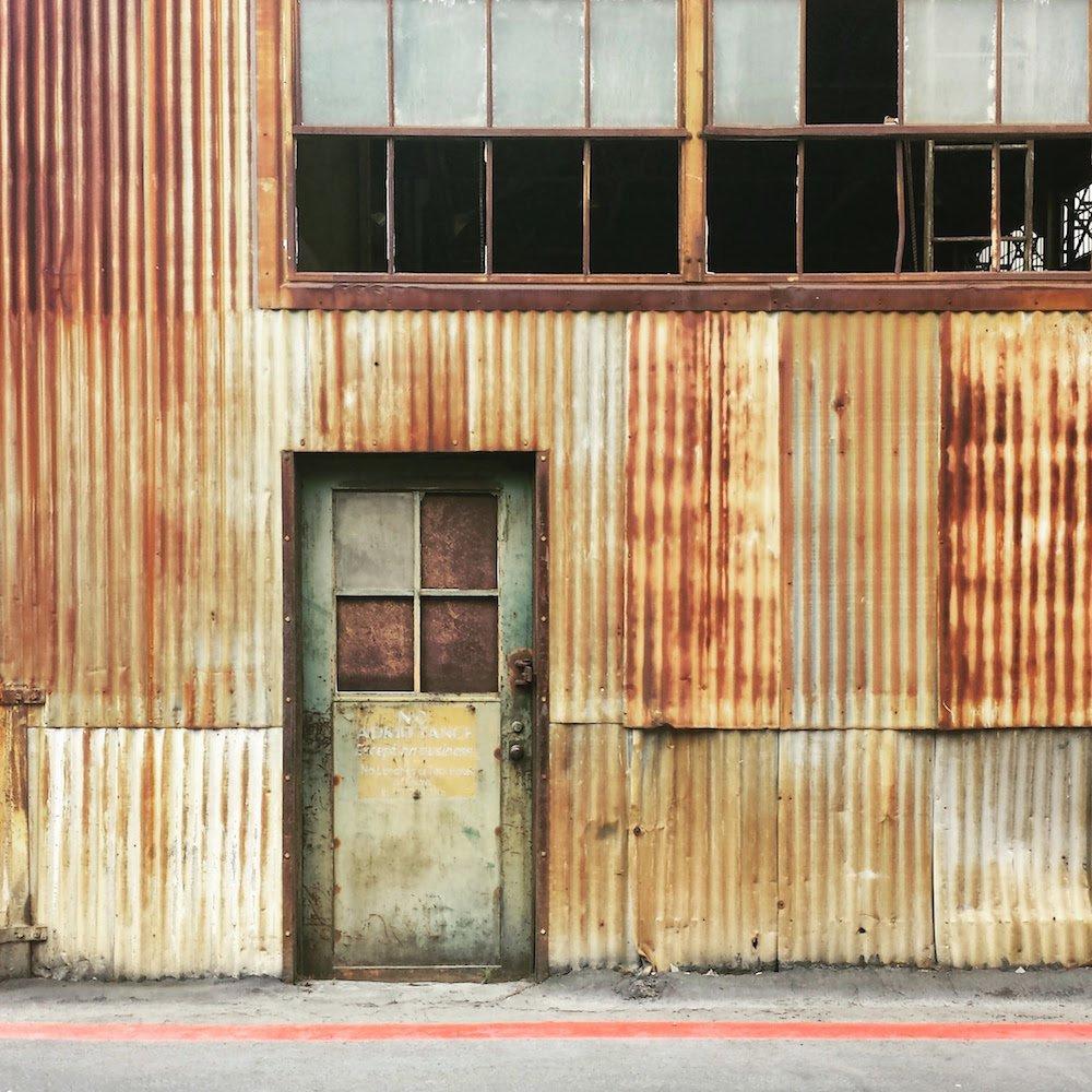 Pier 70 Door, Dogpatch, San Francisco by Sabrina Brett