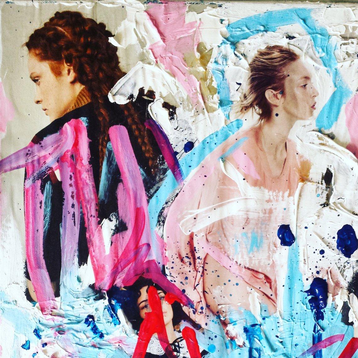 Pink and Blue Sabrina Brett 2