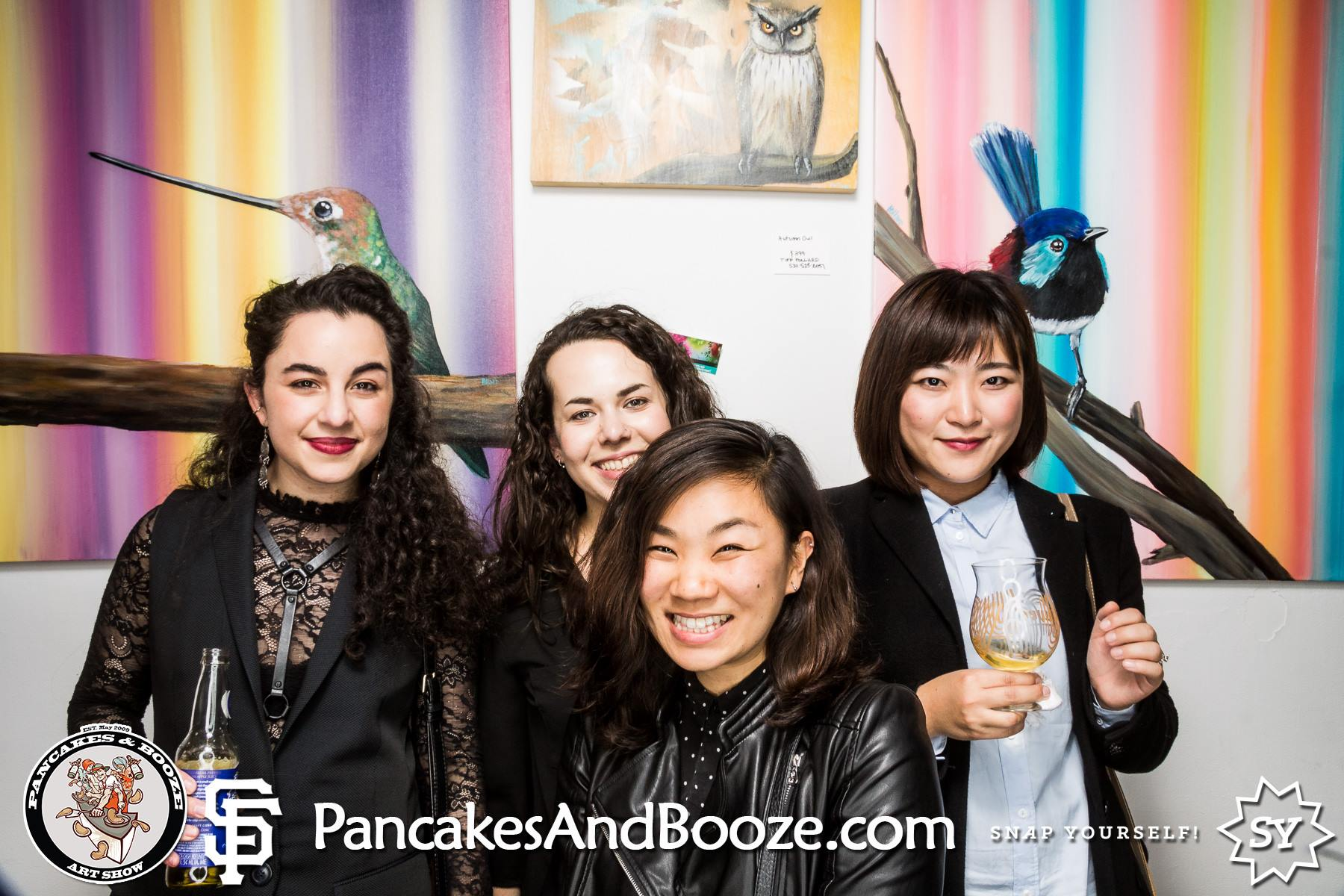 Pancakes & Booze Art Show January 2016 SF - Sabrina Brett