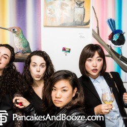 Pancakes & Booze Art Show January 2016 SF