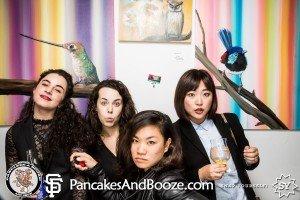 Pancakes & Booze Art Show – San Francisco
